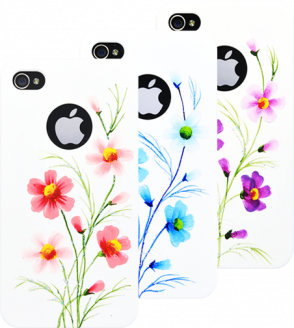 Панель для iPhone 4/4S iCover Wild Flower