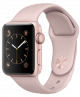 Apple Watch Series 1 38mm rose gold aluminium case with pink sand sport band