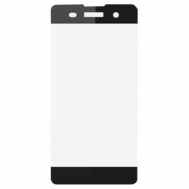 Стекло защитное для Sony Xperia XA Ultra Ainy Full Screen Cover (3D) 0,2mm серое