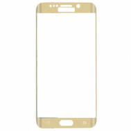 Стекло защитное для Samsung Galaxy S6 Edge Plus G928C Ainy Full Screen Cover (3D) 0,2mm золотое