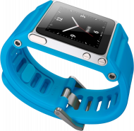 Браслет для iPod nano 6 CMKY TikTok Cyan Watch Band Blue