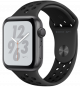 Apple Watch Series 4 GPS 44mm Space Grey Aluminum Case with Black Nike Sport Band MU6L2
