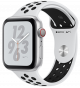 Apple Watch Series 4 GPS+ Cellular 40mm Silver Aluminum Case with Pure Platinum/Black Nike Sport Ban