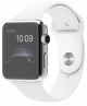 Apple Watch 42mm with Sport Band White